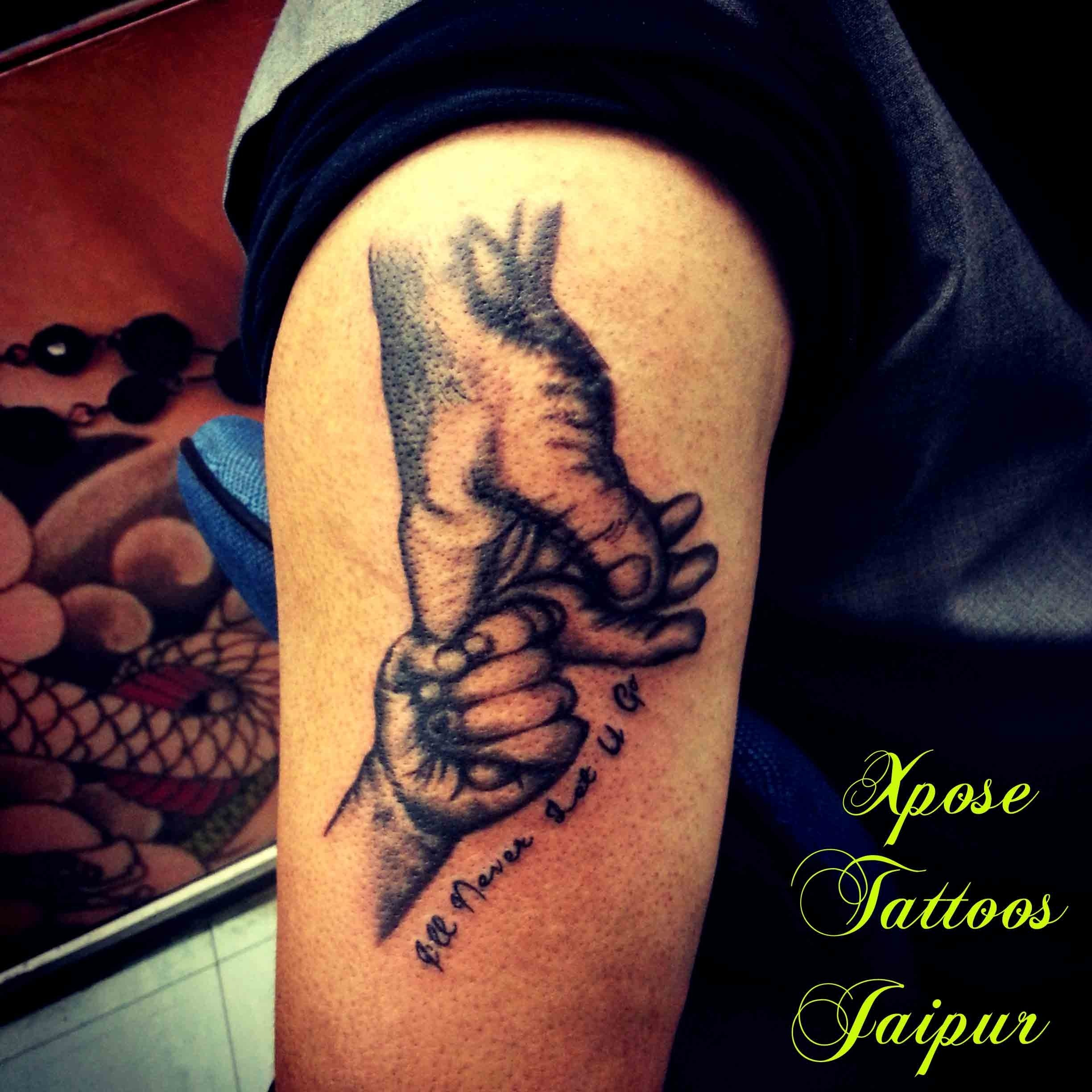 10 Ideal Father And Son Tattoo Ideas dashanan ravana tattoo by xpose tattoos jaipur india xpose tattoos 1