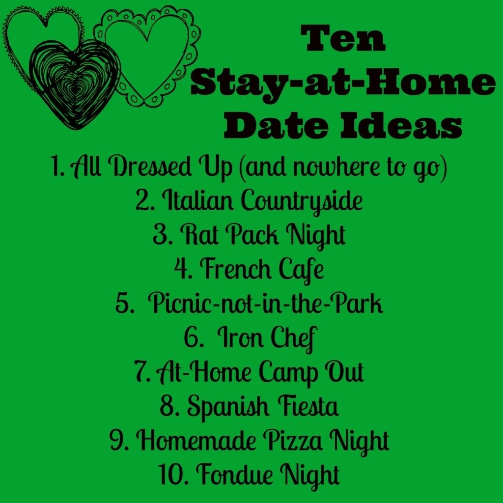 date night refresh with irish spring: 10 stay-at-home date night