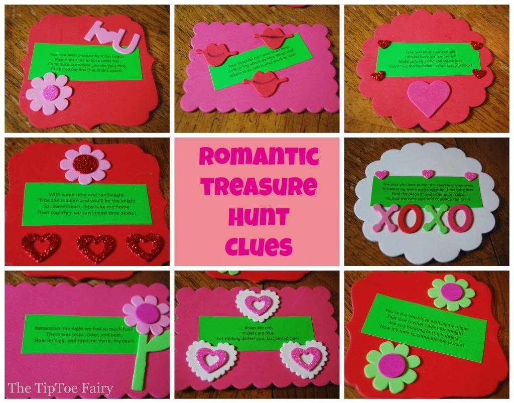 10 Cute Cute Scavenger Hunt Ideas For Boyfriend date night with a romantic treasure hunt the tiptoe fairy 2 2021