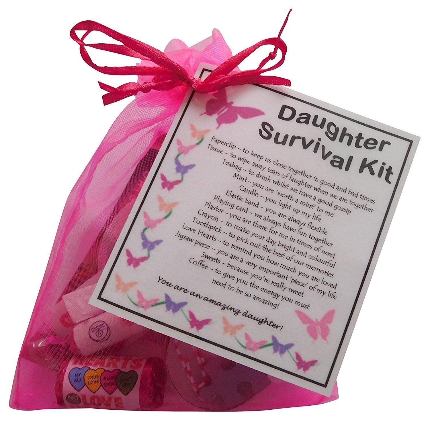 10 Lovely 18Th Birthday Gift Ideas For Daughter daughter survival kit gift great present for birthday christmas or 2 2020