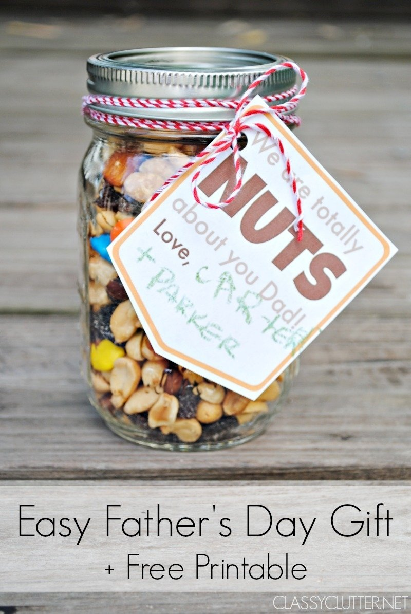10 Great Gift Ideas For Fathers Day day gift idea and a free printable gift tag 1 2020