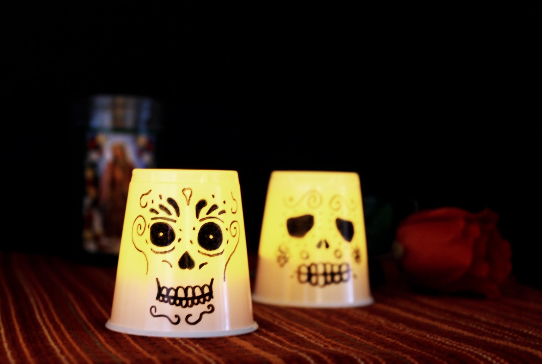 10 Famous Day Of The Dead Craft Ideas day of the dead craft kid friendly lanterns growing up bilingual