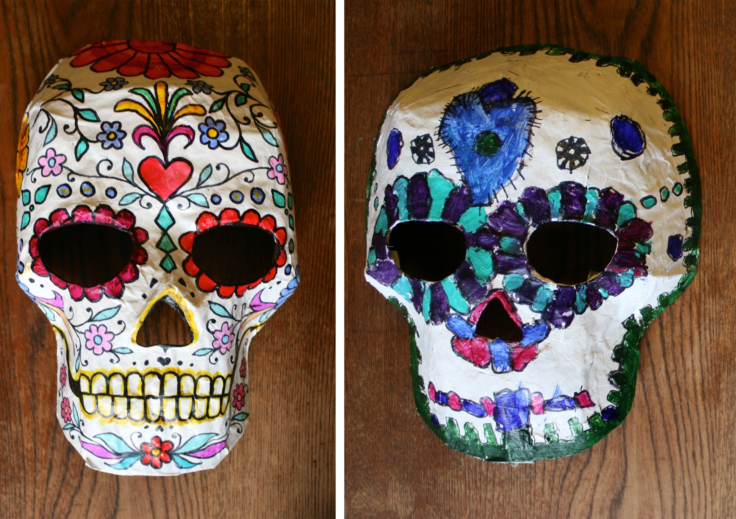 10 Famous Day Of The Dead Craft Ideas day of the dead crafts masks madetoya