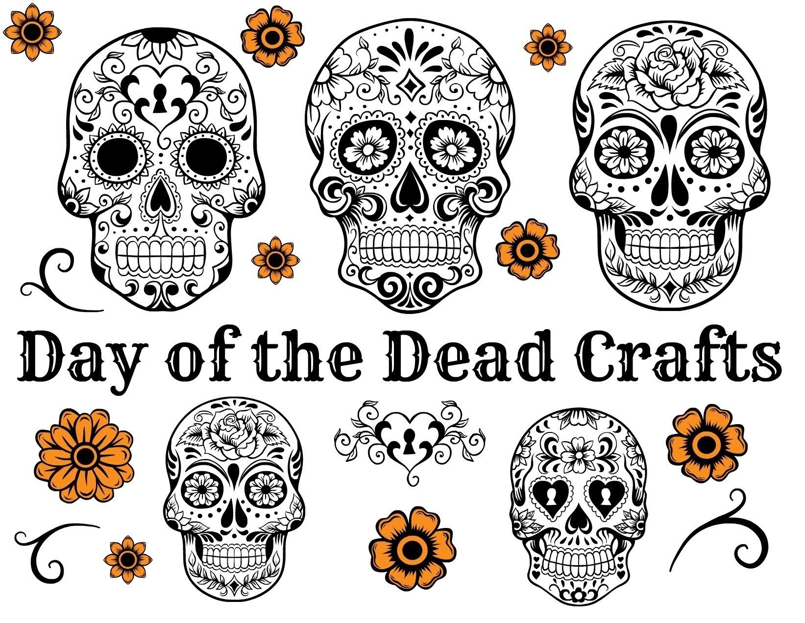 10 Famous Day Of The Dead Craft Ideas day of the dead crafts youtube
