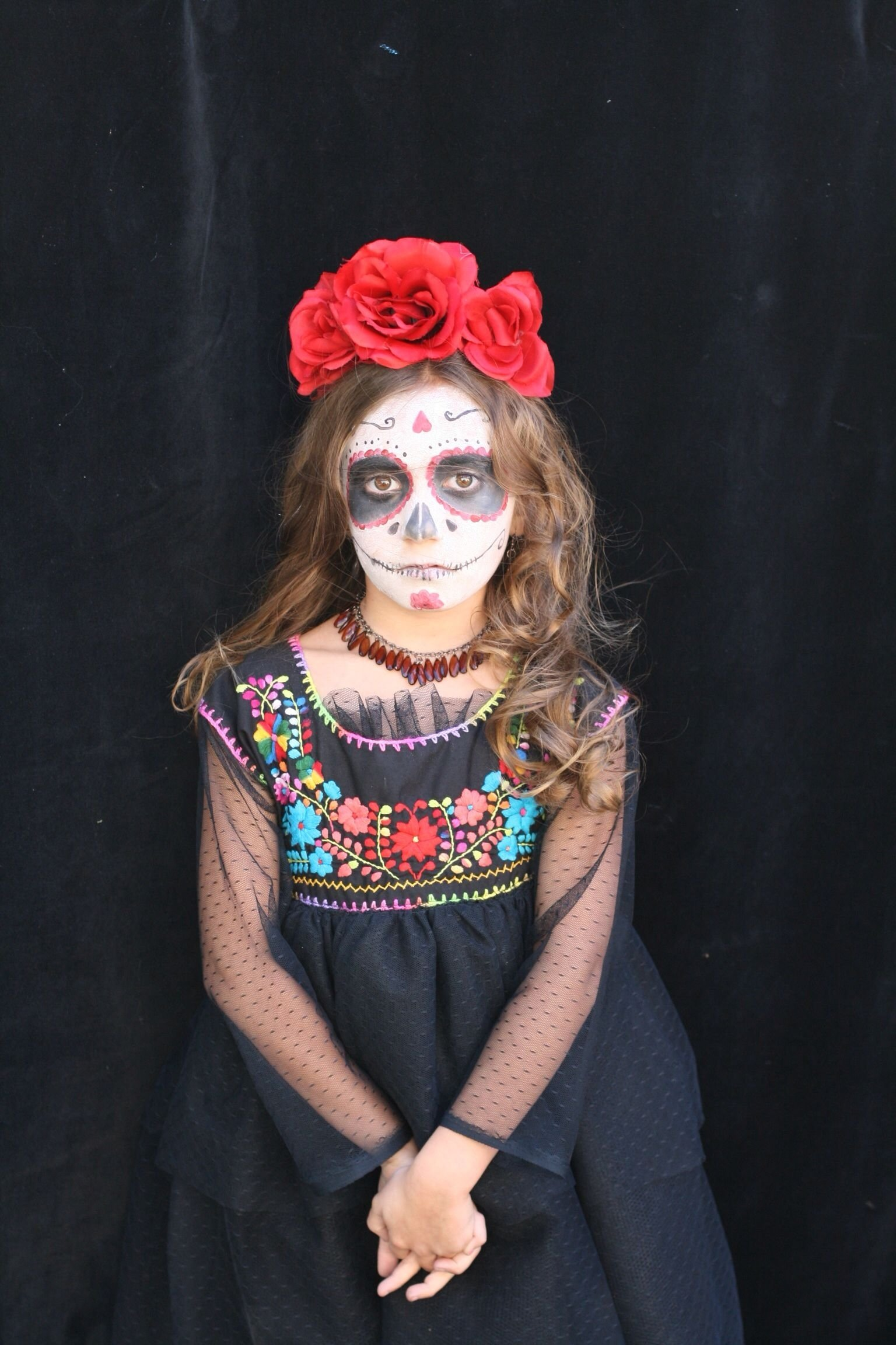 10 Wonderful Dia De Los Muertos Costumes Ideas day of the dead girl costume dia de los muertos cool photos