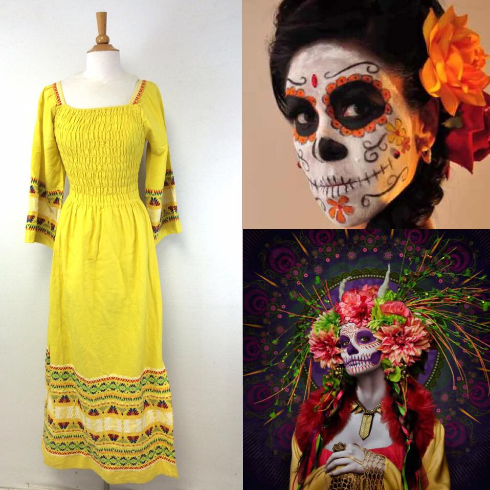 10 Fabulous Day Of The Dead Dress Ideas day of the dead halloween costume mood board for day of the dead 2020