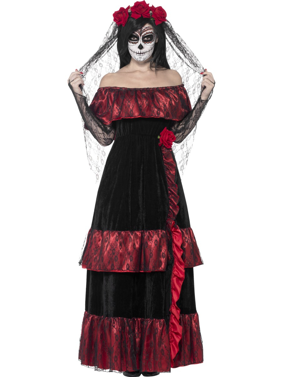 10 Fabulous Day Of The Dead Dress Ideas day of the dead halloween costumes fancy dress ball 2020