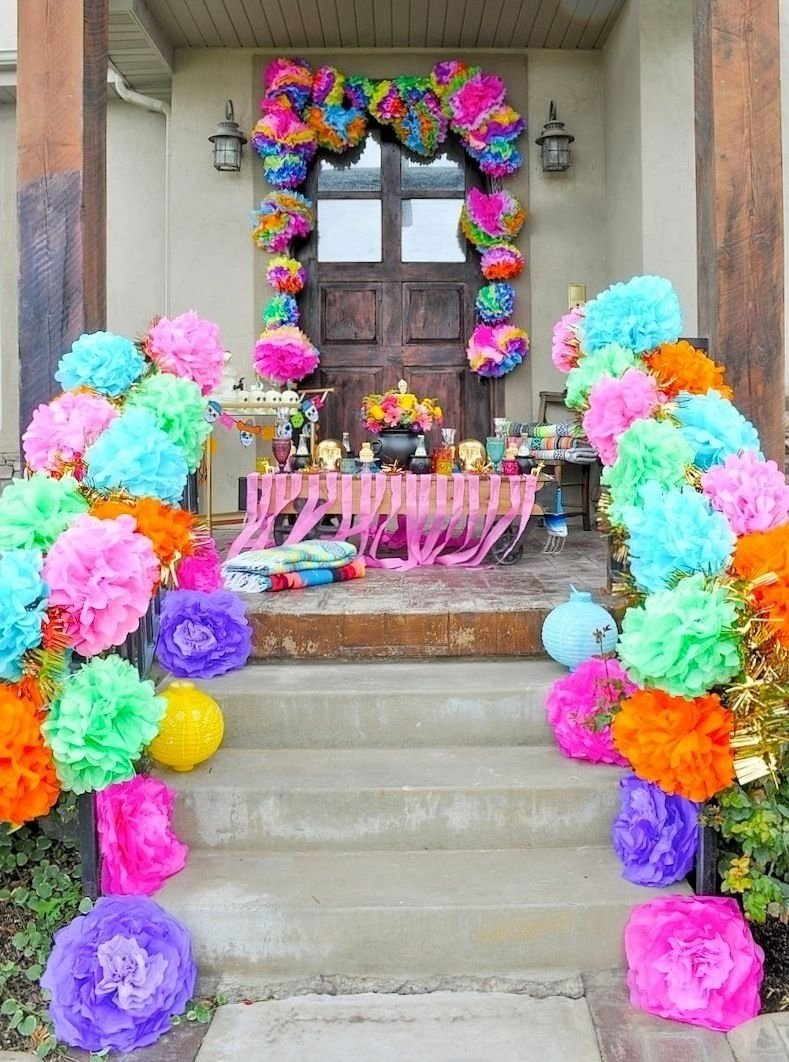 10 Fabulous Day Of The Dead Party Ideas day of the dead halloween party halloween parties birthdays and 1 2021