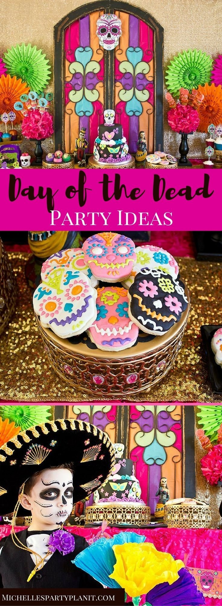 10 Fabulous Day Of The Dead Party Ideas day of the dead party 2021