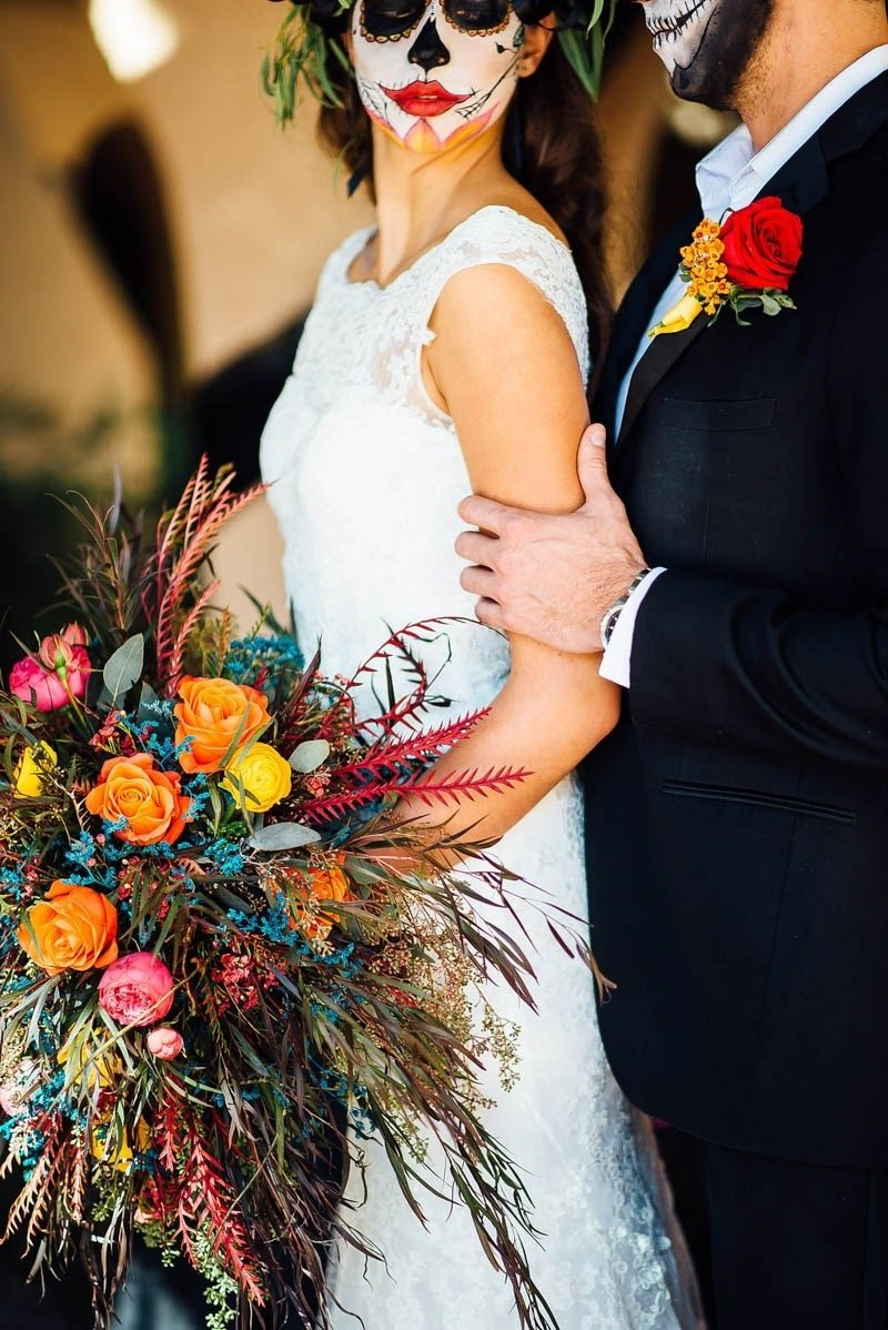 day of the dead wedding ideas | bespoke-bride: wedding blog