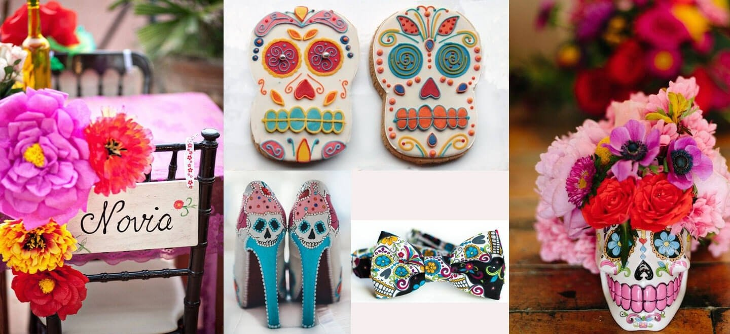 10 Ideal Day Of The Dead Wedding Ideas day of the dead wedding ideas style steals gay wedding guide