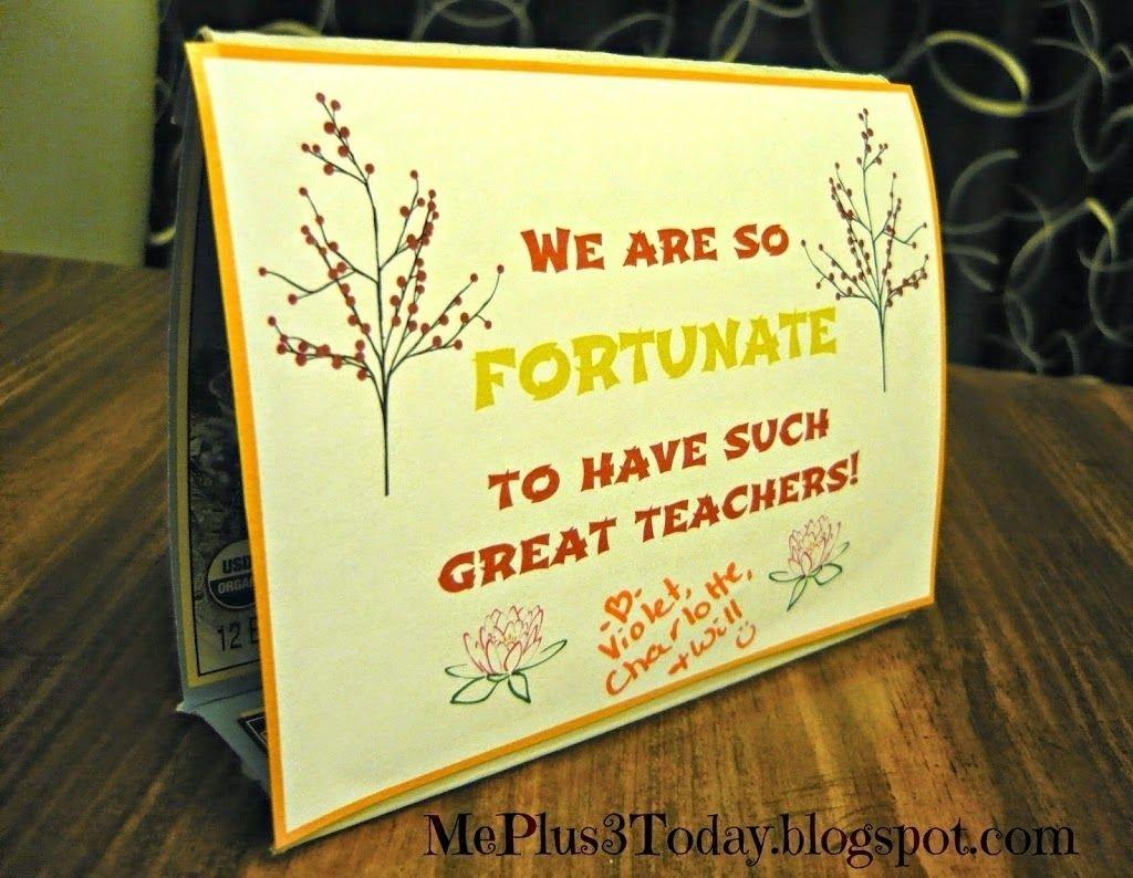 10 Pretty Daycare Teacher Appreciation Gift Ideas daycare teacher appreciation gift day 3 chocolate and fortune 2020