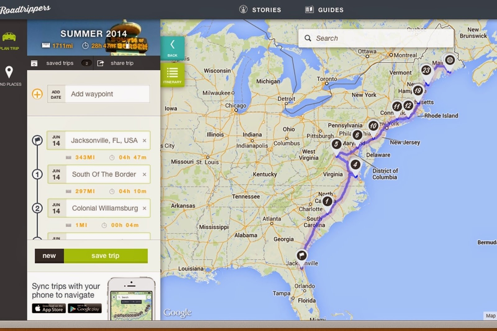 daydreaming and sightseeing: east coast road trip with the family!