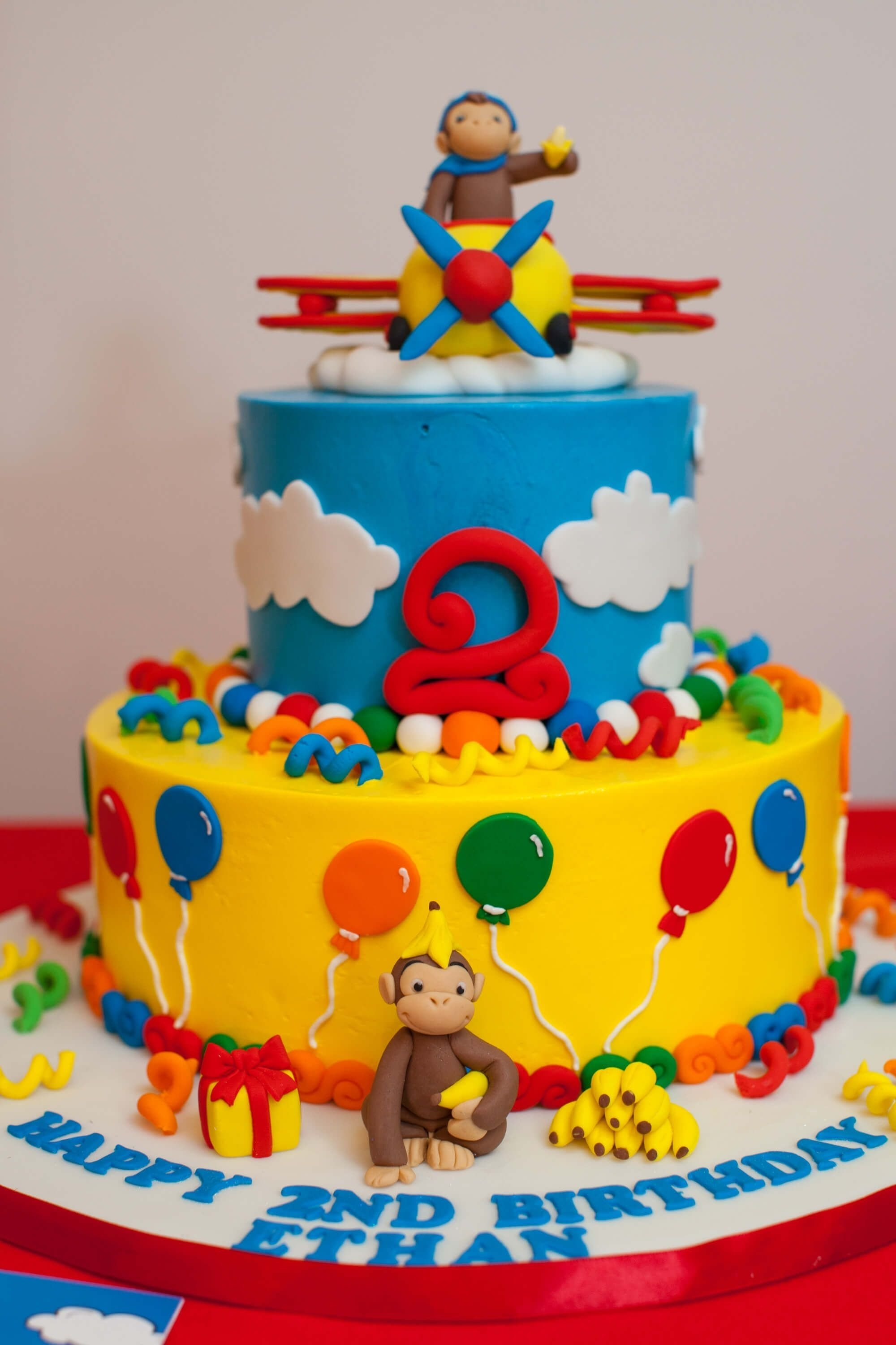 10 Famous Curious George Birthday Cake Ideas dazzling design curious george cake cakecentral com cakes 2021