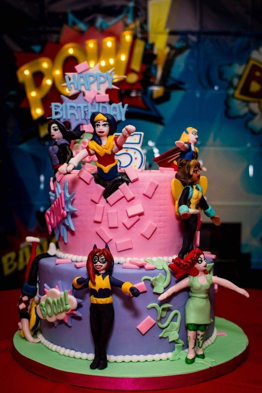 10 Most Recommended Birthday Celebration Ideas In Dc dc superhero girls birthday cake dc superhero girls birthday party 2020