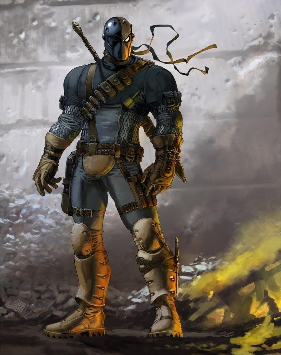 10 Fabulous Dc Universe Online Character Ideas deathstroke video game ideas deathstroke comic vine 2021