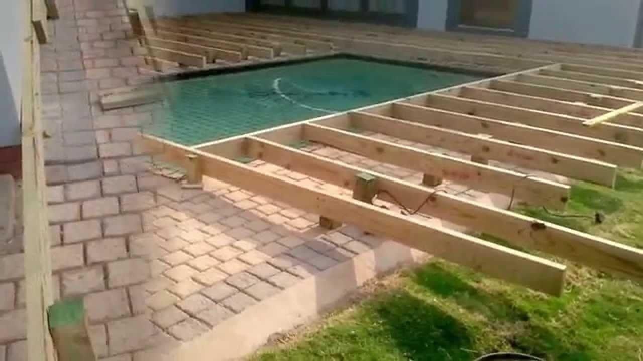 10 Elegant Pool Deck Ideas For Inground Pools deck around inground pool pool pinterest decking ground pools 2021