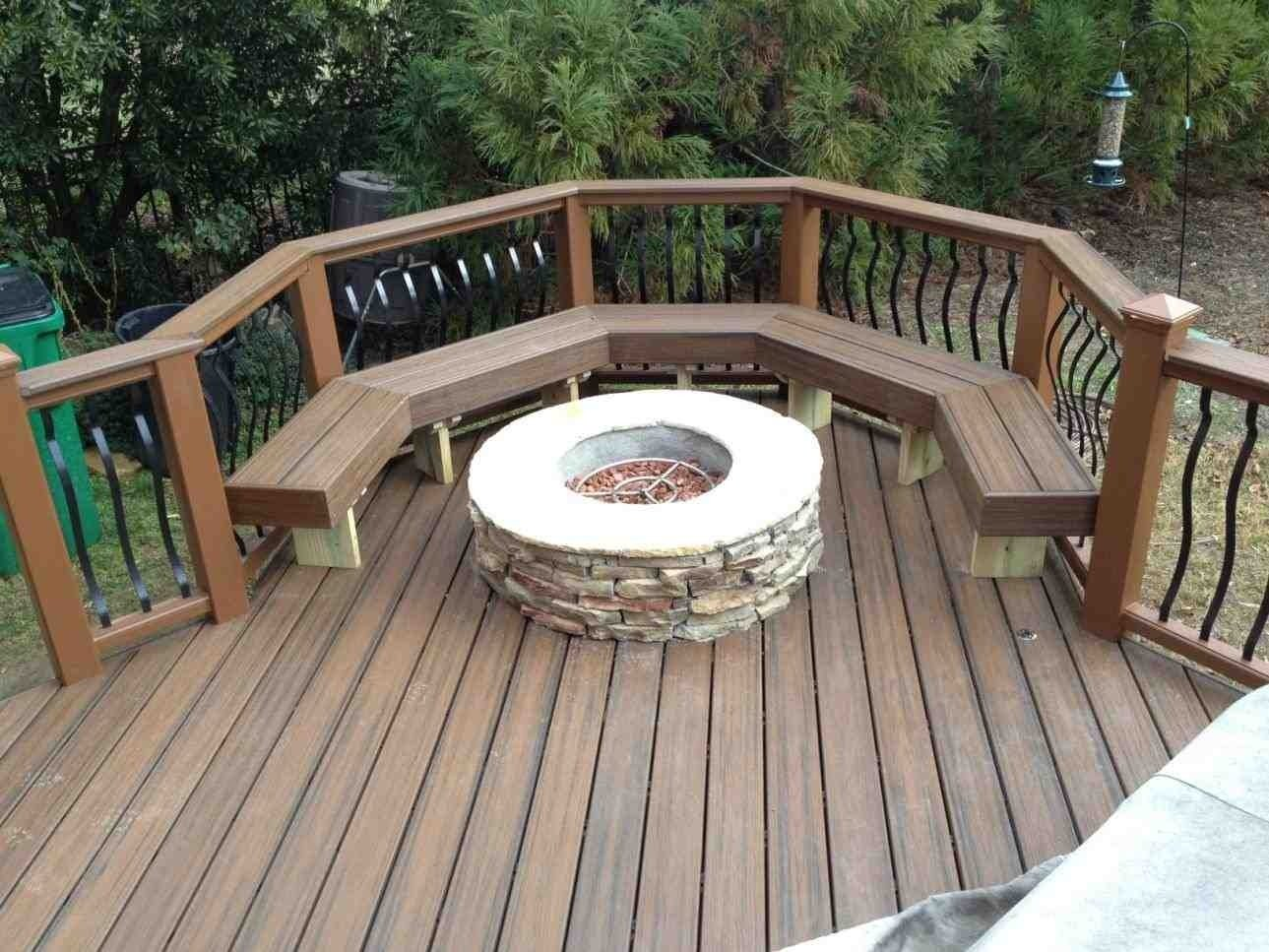 10 Stylish Deck Ideas With Fire Pit deck ideas with fire pit homedesignlatest site 2021