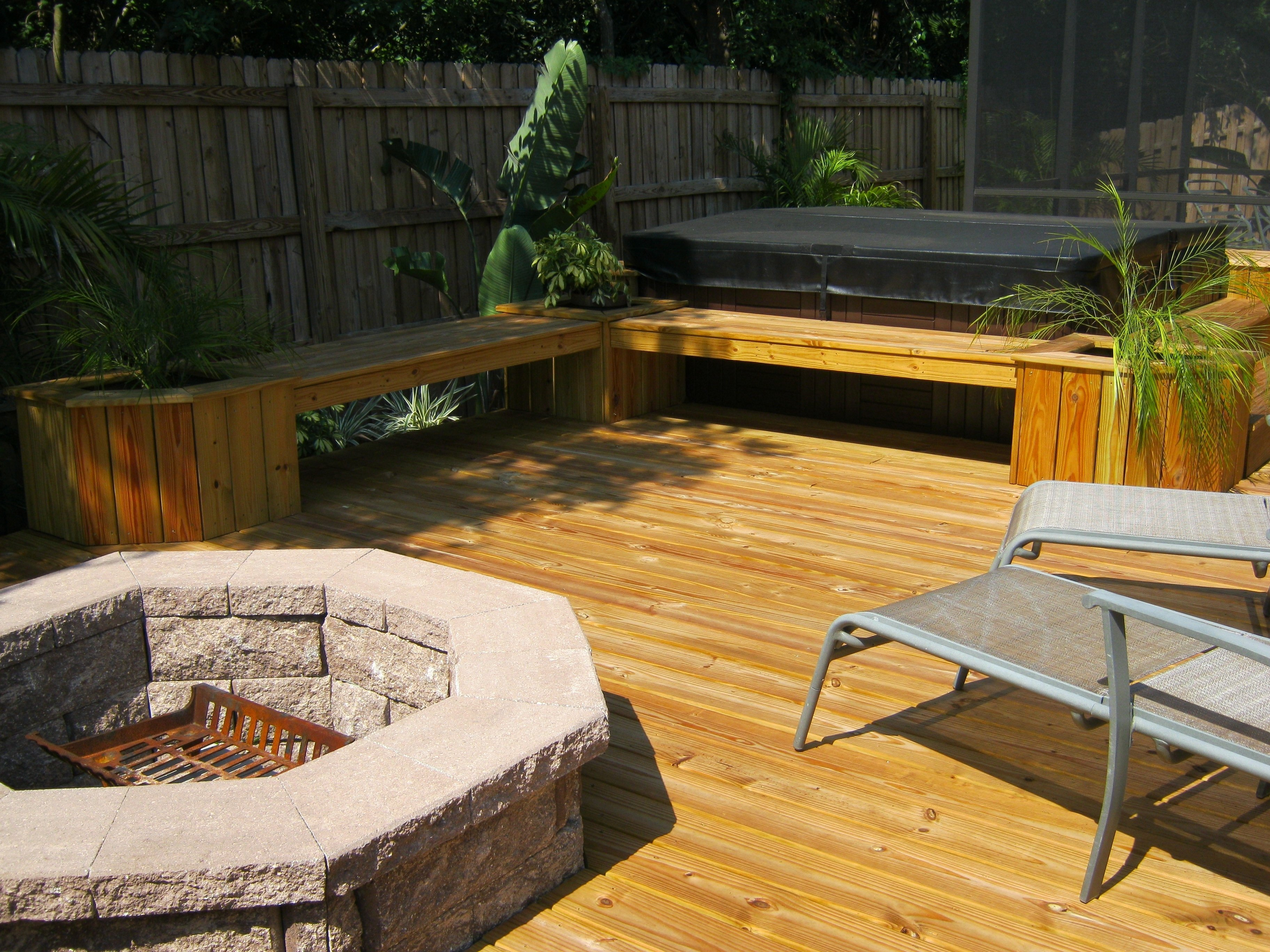 10 Stylish Deck Ideas With Fire Pit deck with fire pit fire pits exterior concepts blog for the within 2021