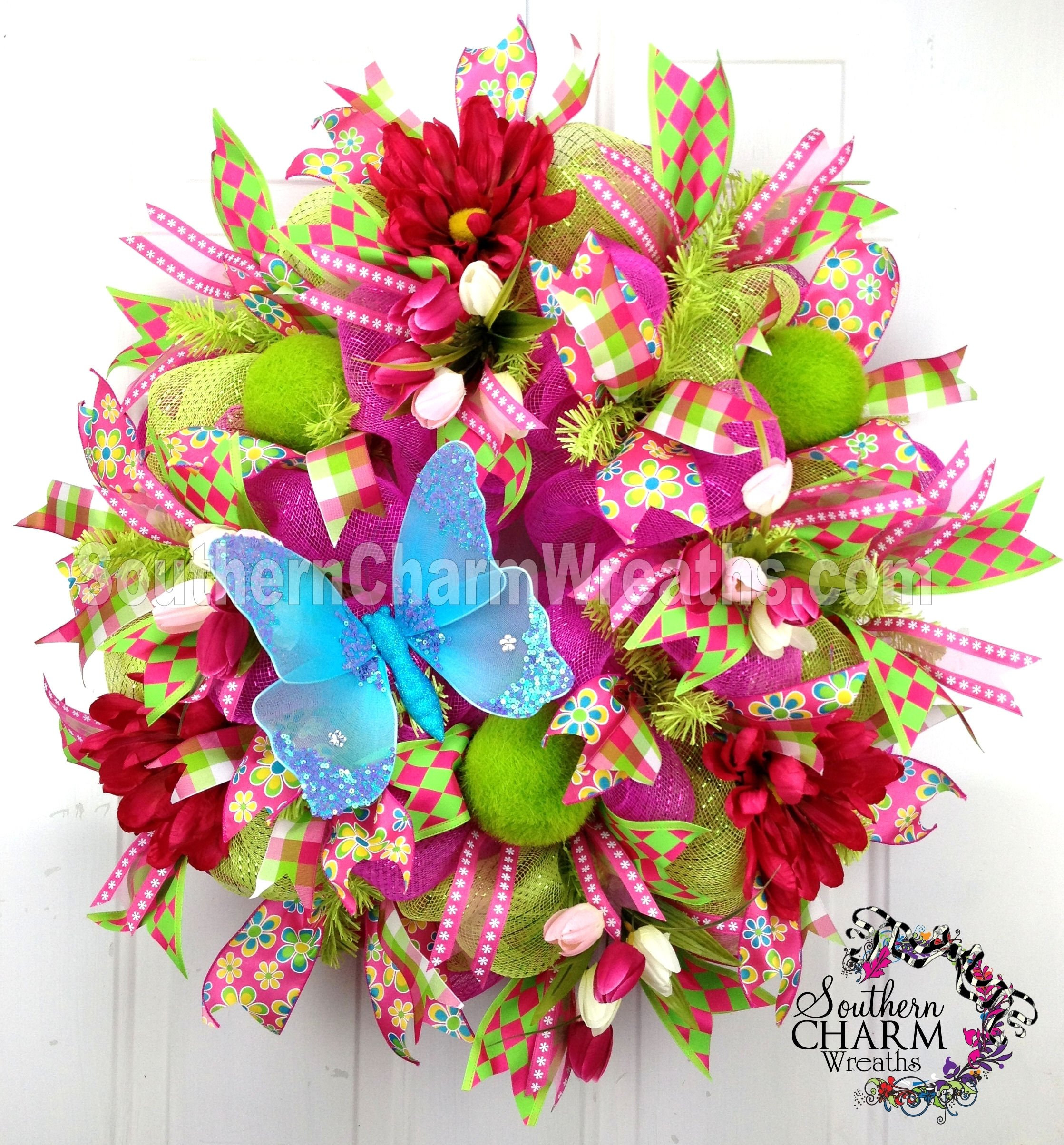 10 Fabulous Spring Deco Mesh Wreath Ideas deco mesh wreaths twist tie dilemma solved wreaths spring and 2020
