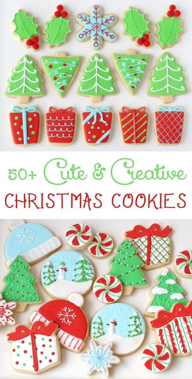 10 Ideal Christmas Sugar Cookie Decorating Ideas decorated christmas cookies glorious treats 2020