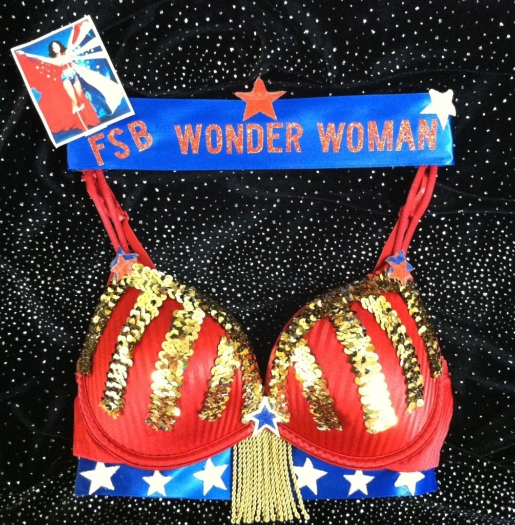 10 Unique Bras For A Cause Ideas decorated university bras wonder woman bras for a cause