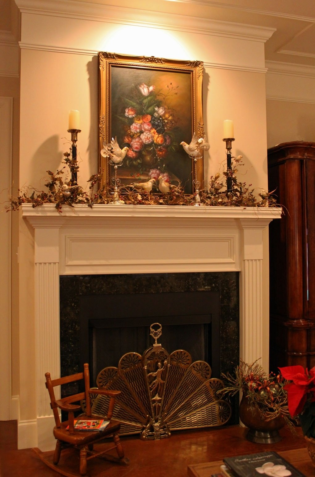 10 Spectacular Decorating Ideas For Fireplace Mantel decorating a fireplace mantel 2020