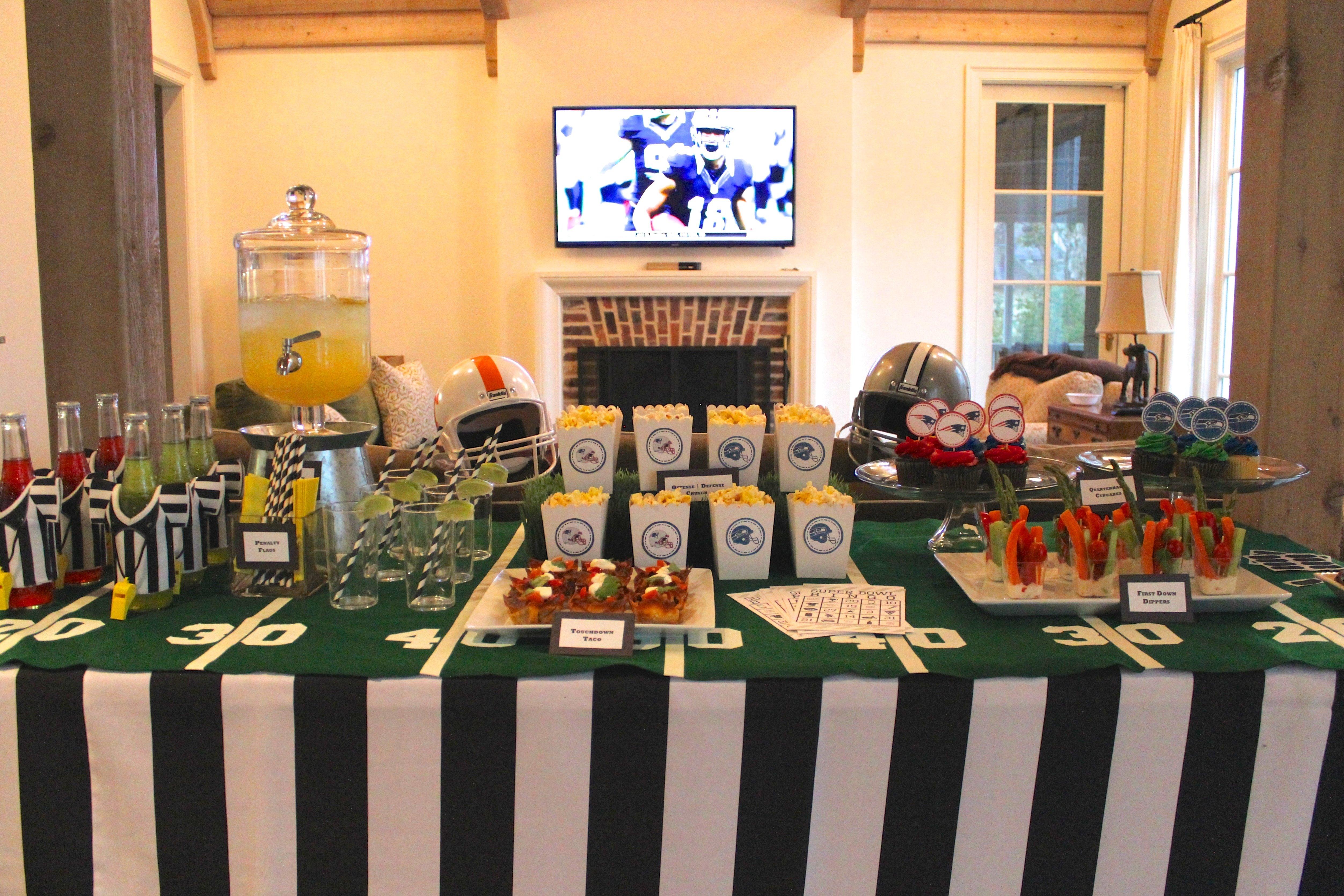 10 Amazing Super Bowl Party Decorating Ideas decorating a winning super bowl party ideas lifestyle