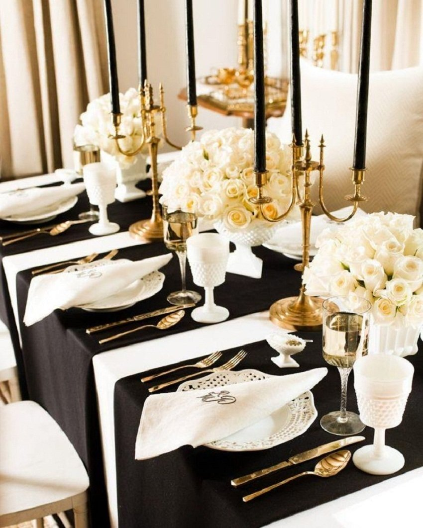 10 Lovable New Years Eve Theme Party Ideas decorating awesome black white and golden color themed new years eve 2021