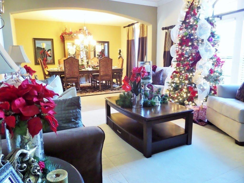 10 Stylish Christmas Living Room Decorating Ideas decorating for christmas christmas living room tour ideas youtube