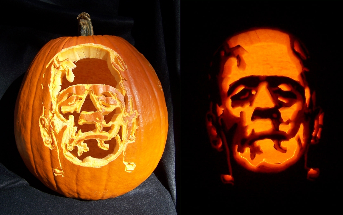 10 Amazing Awesome Jack O Lantern Ideas decorating ideas cool picture of kid scary frankenstein jack o 1 2020