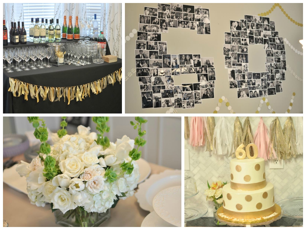 decorating ideas for 60th birthday party - meraevents