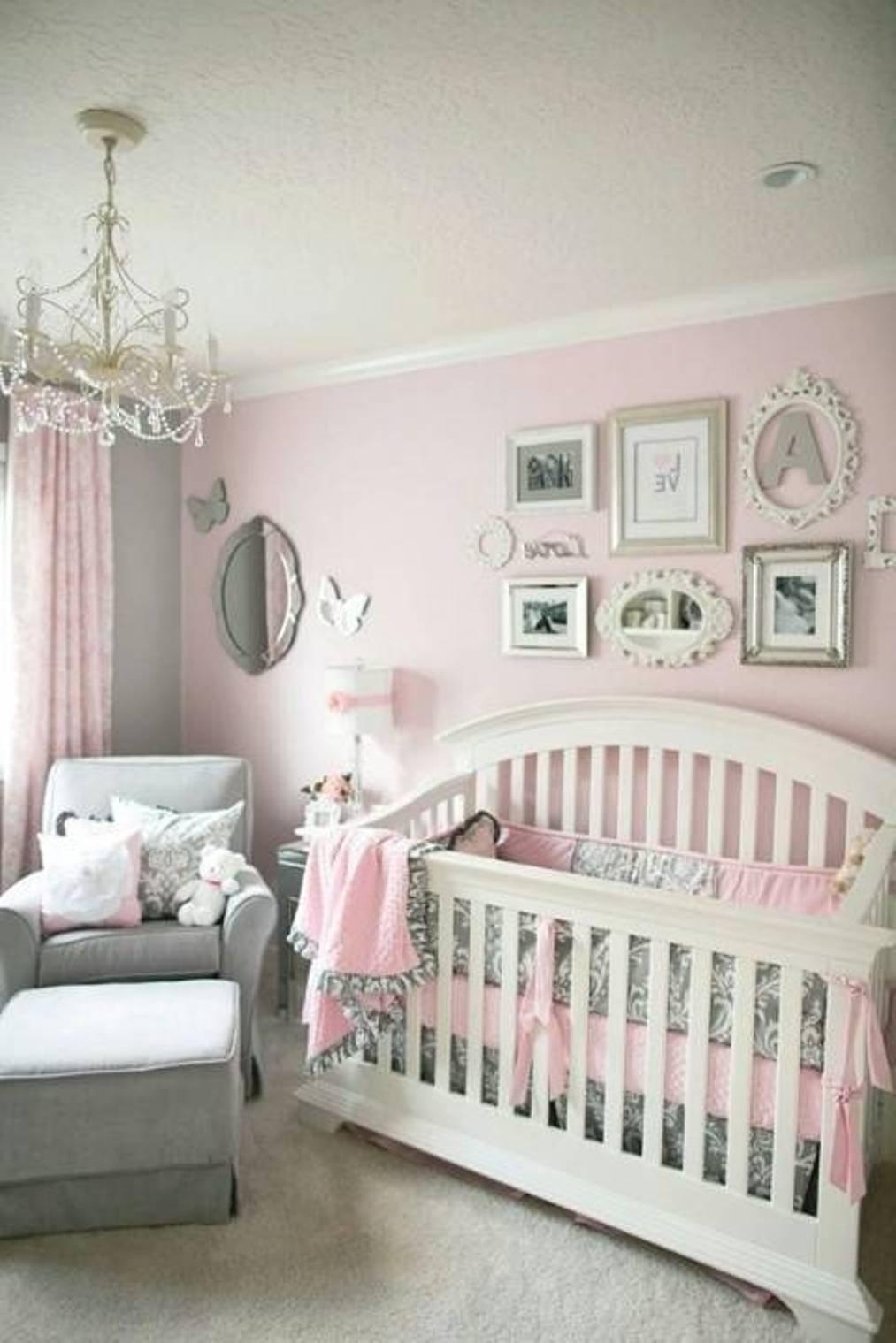 10 Wonderful Baby Girl Nursery Decorating Ideas decorating ideas for baby girl nursery wall decor editeestrela 1 2020