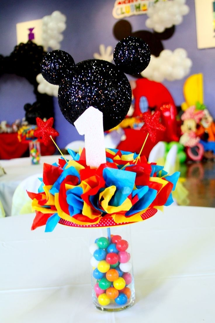 10 Attractive Mickey Mouse Clubhouse Decoration Ideas decorating ideas for mickey mouse party amazing home design creative 2020