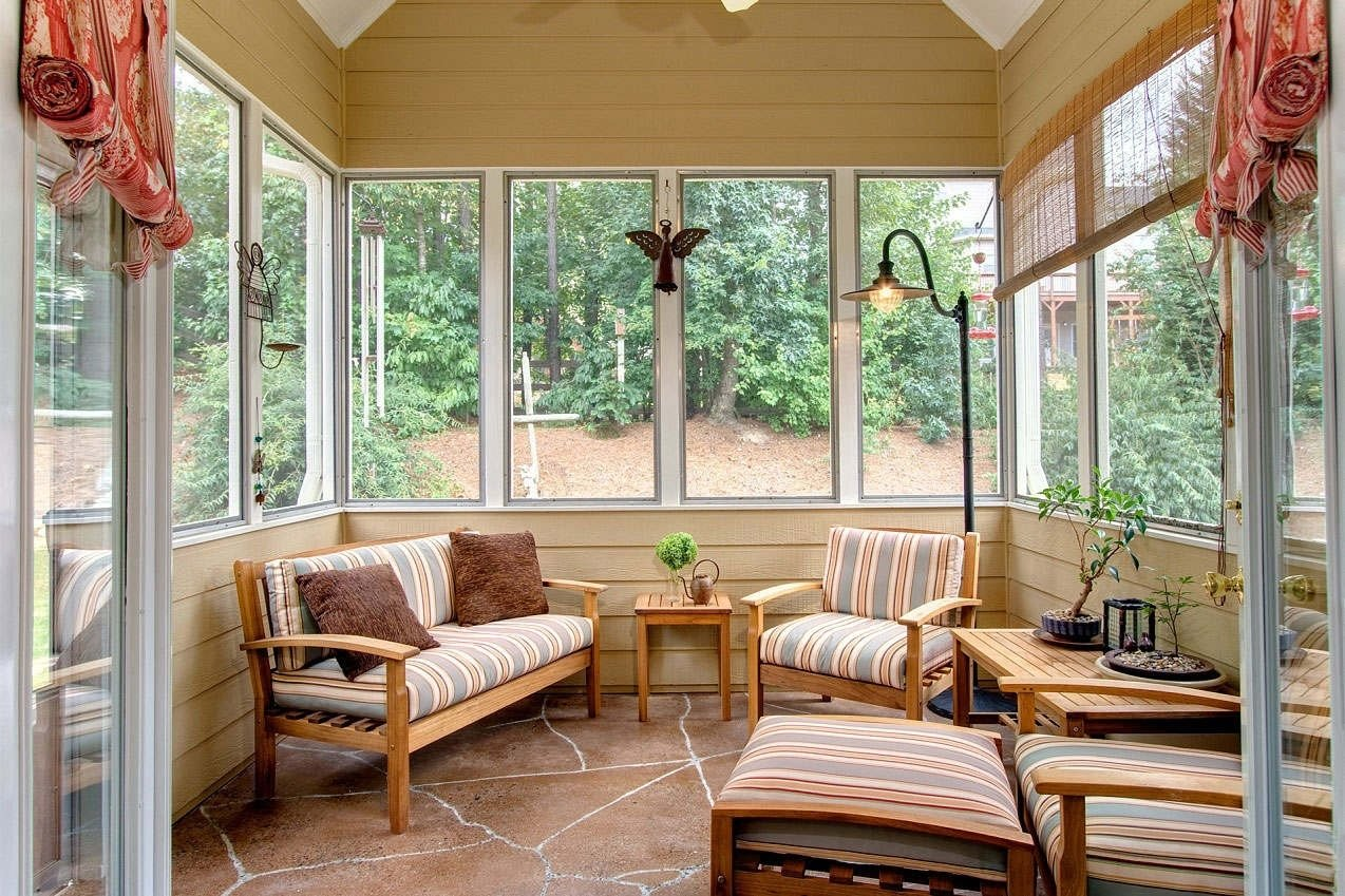 10 Ideal Sunroom Ideas On A Budget decorating ideas for sunroom and get to create the of your dreams 2020