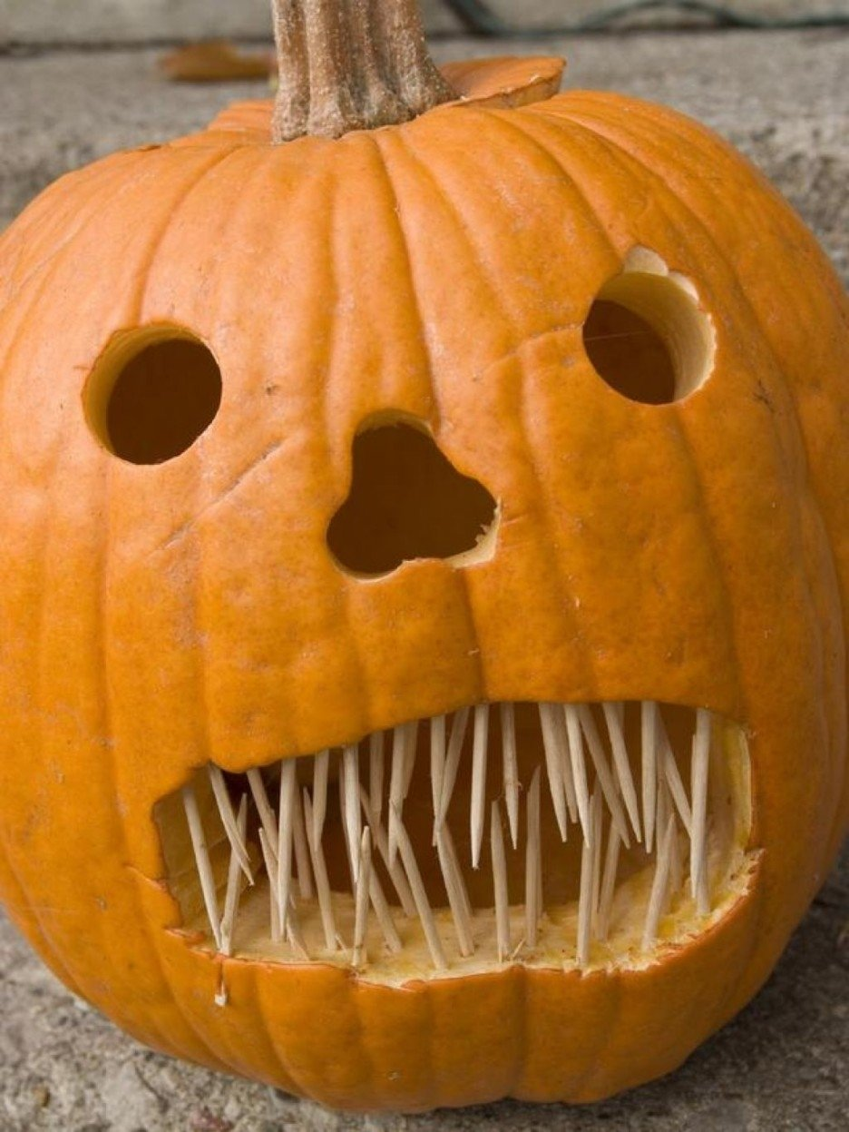 10 Great Good Ideas For Pumpkin Carving decorating ideas handsome picture of spook scary kid love pumpkin 2 2020