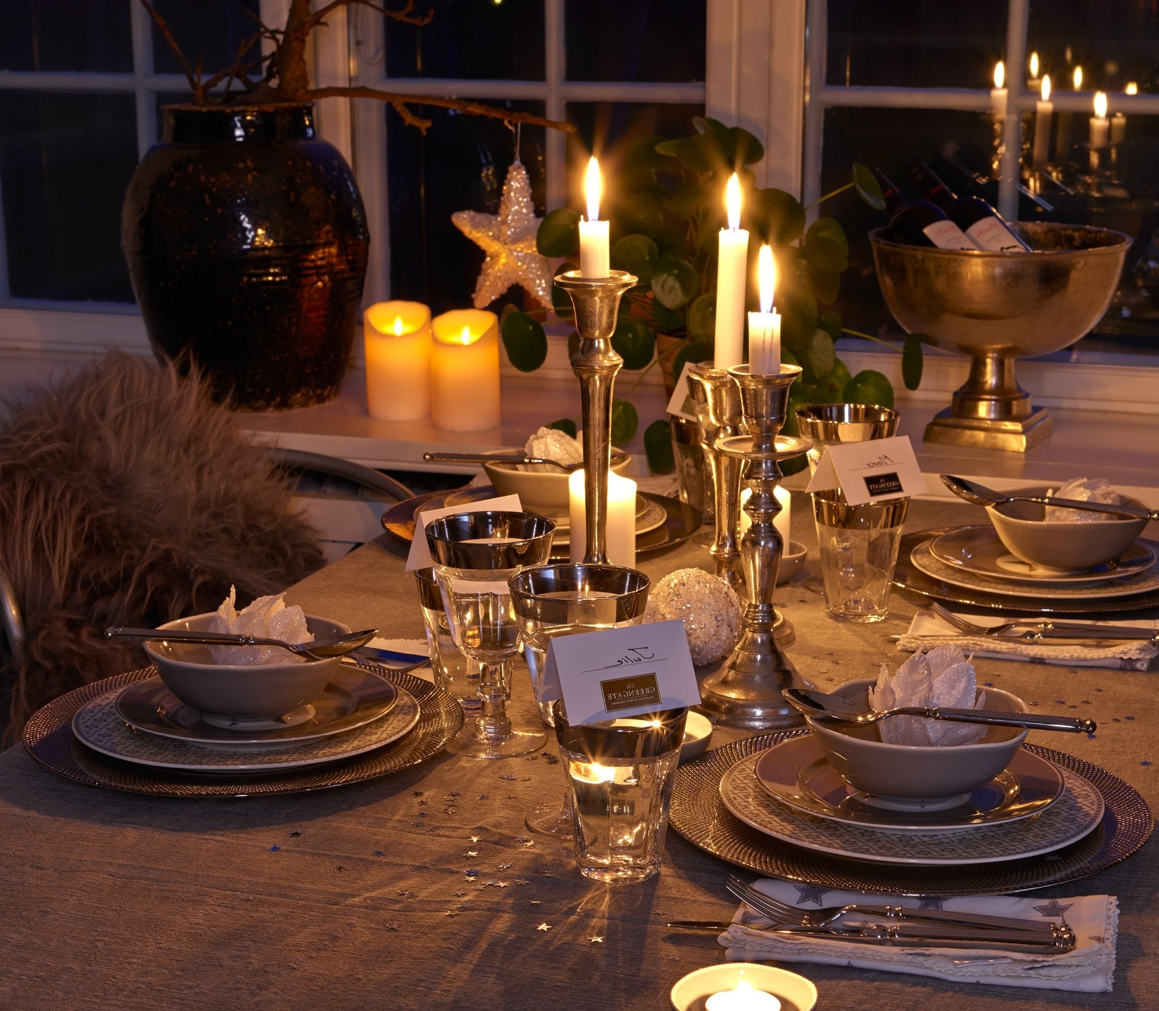 decorating inspiring romantic and elegant new years eve party