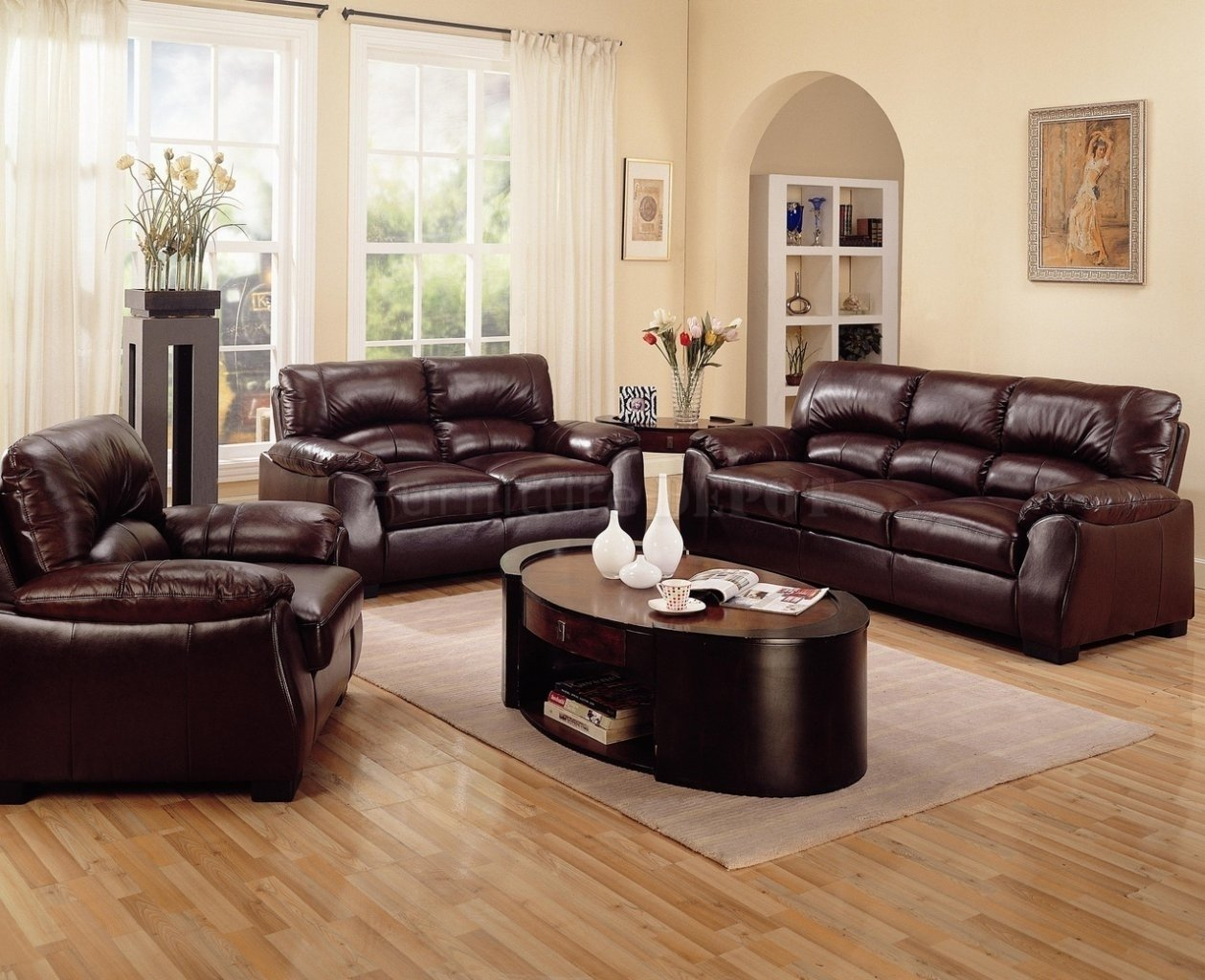 10 Stylish Brown Leather Sofa Decorating Ideas decorating living room with brown leather sofa e280a2 leather sofa 2020