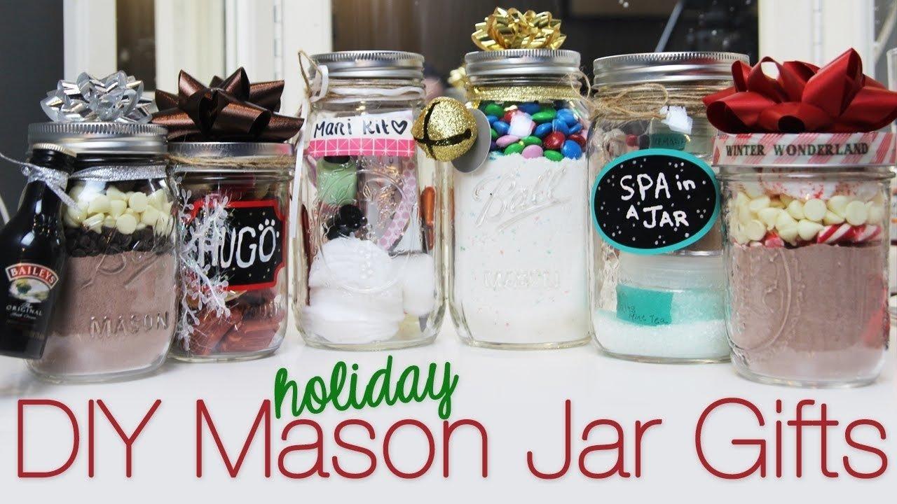 10 Ideal Diy Mason Jar Gift Ideas decorating mason jars for gifts internetunblock 2020