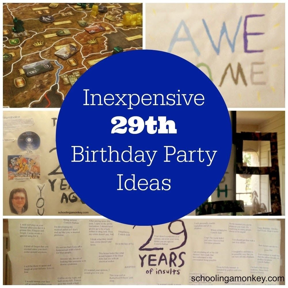 10 Lovely Birthday Ideas For Husband On A Budget decorating on a budget 29th birthday party ideas 29th birthday