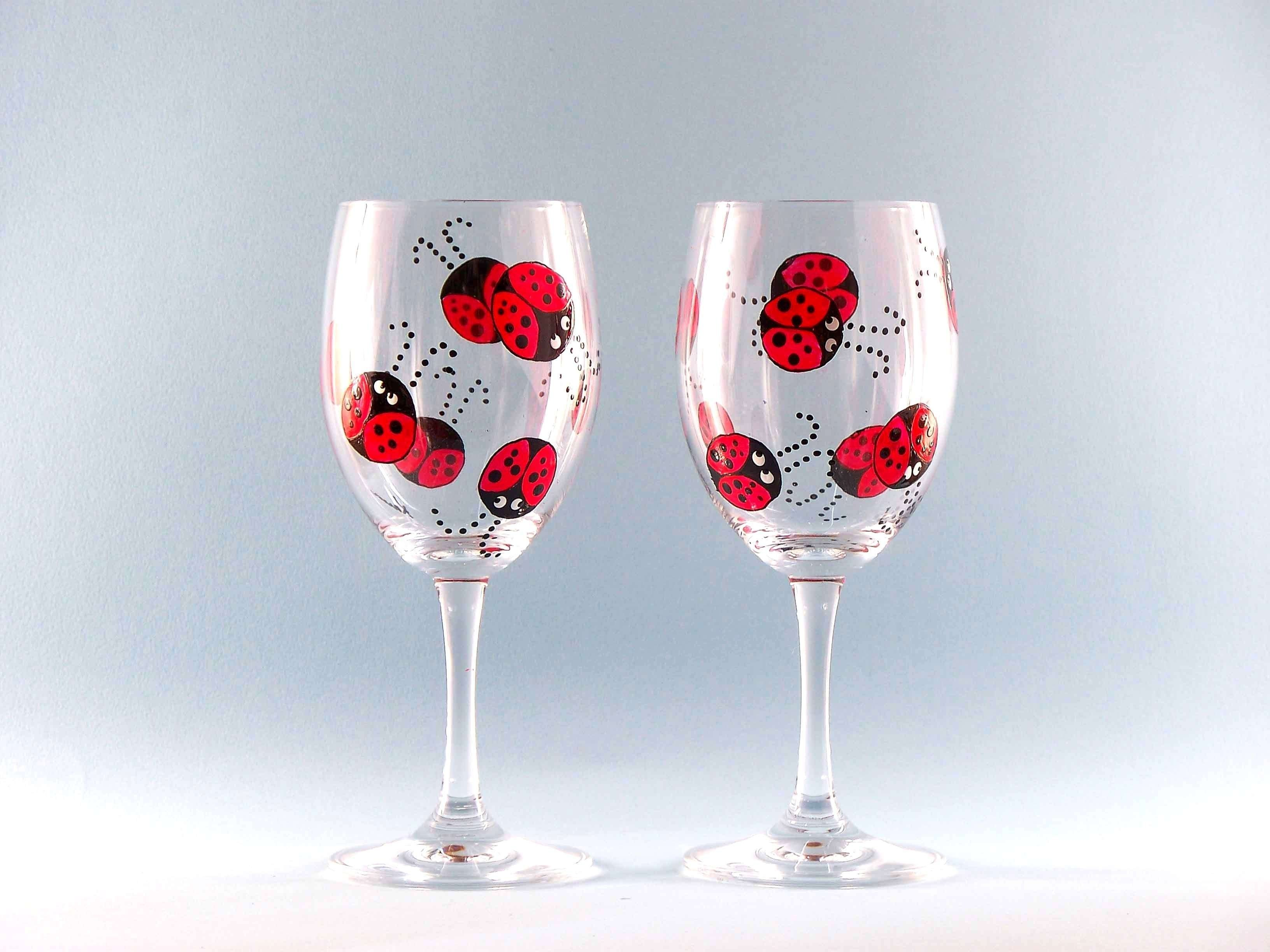 10 Cute Ideas For Painting Wine Glasses decorating wine glasses best of hand painted wine glass ideas the 1 2021