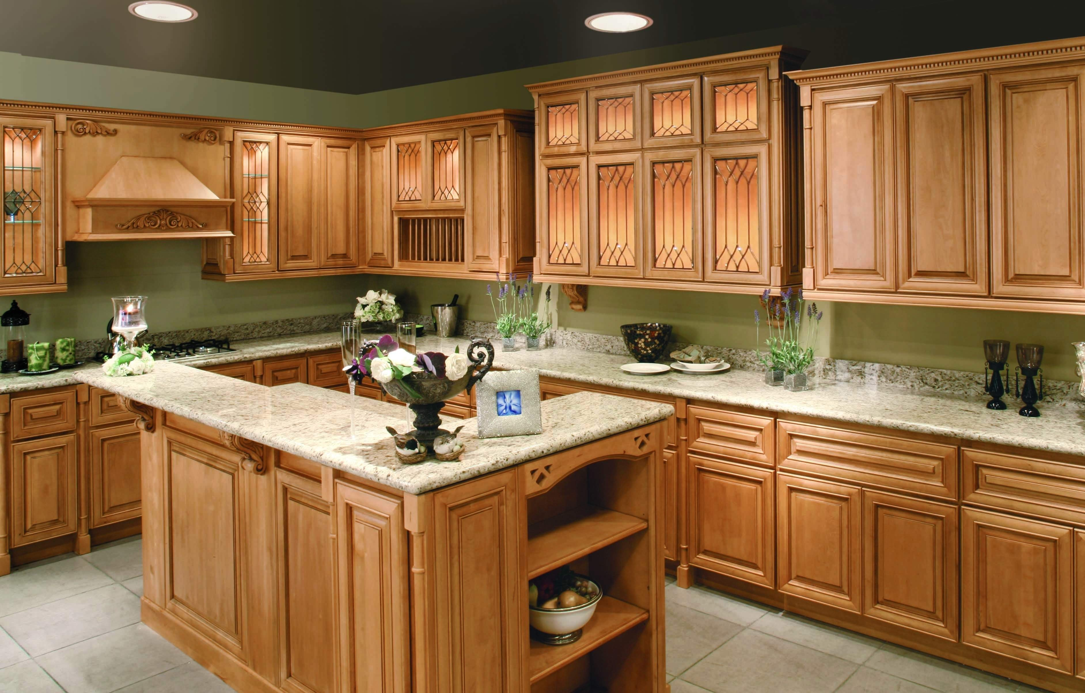 10 Lovable Kitchen Color Ideas With Maple Cabinets decorating your design a house with creative simple kitchen paint 2020