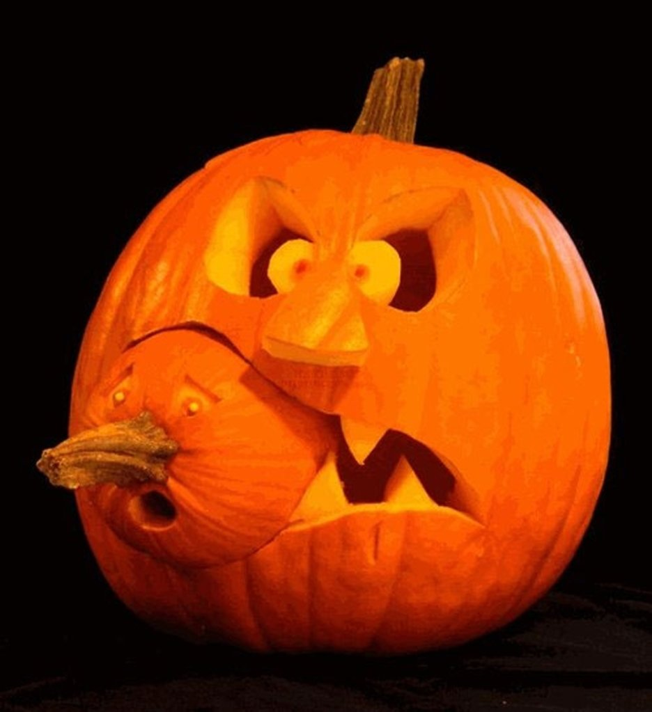 10 Amazing Jack O Lantern Carving Ideas decoration fancy picture of eating another pumpkin couple pumpkin 2020