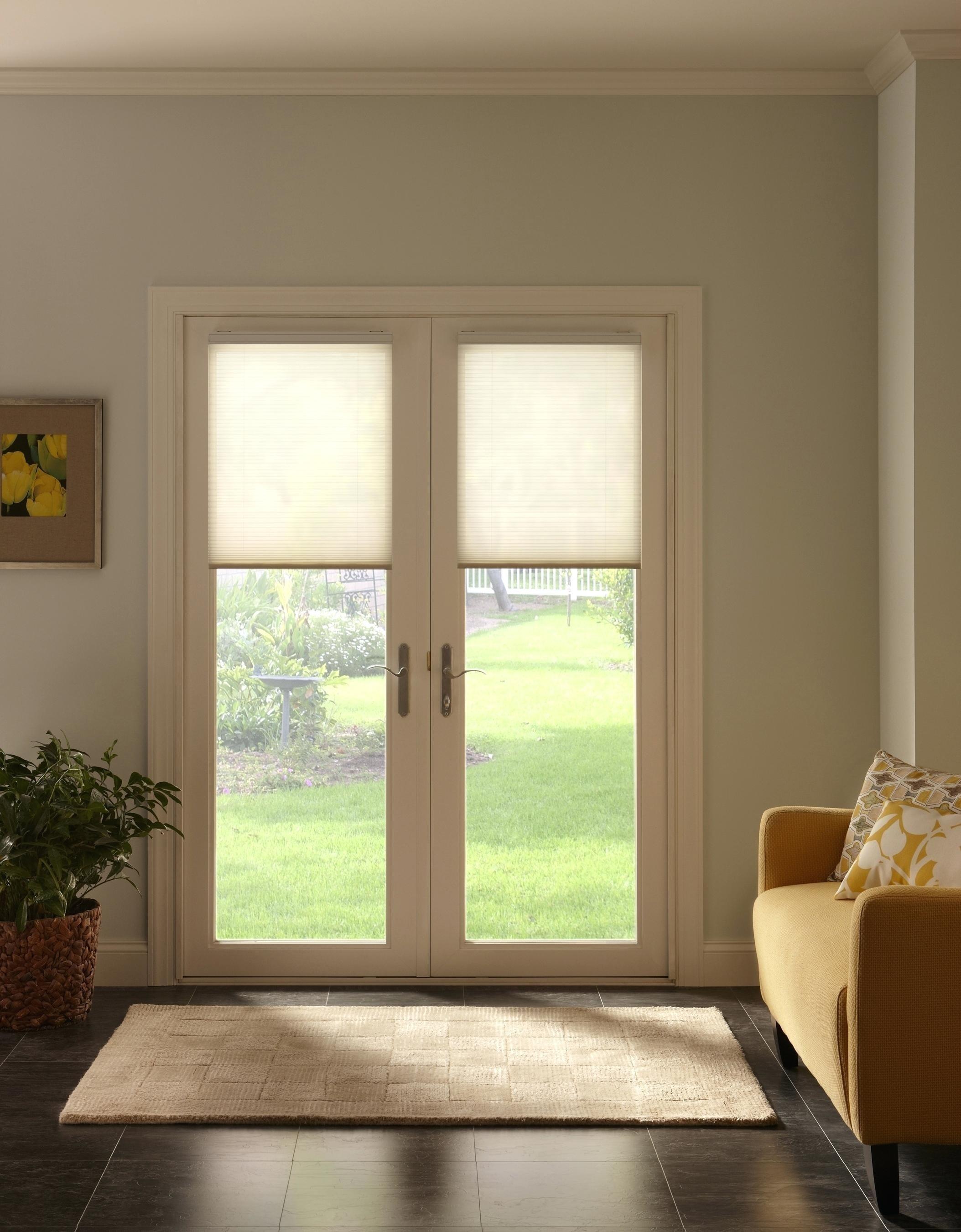 10 Elegant Window Treatment Ideas For French Doors decoration french door window treatments ideas 2020