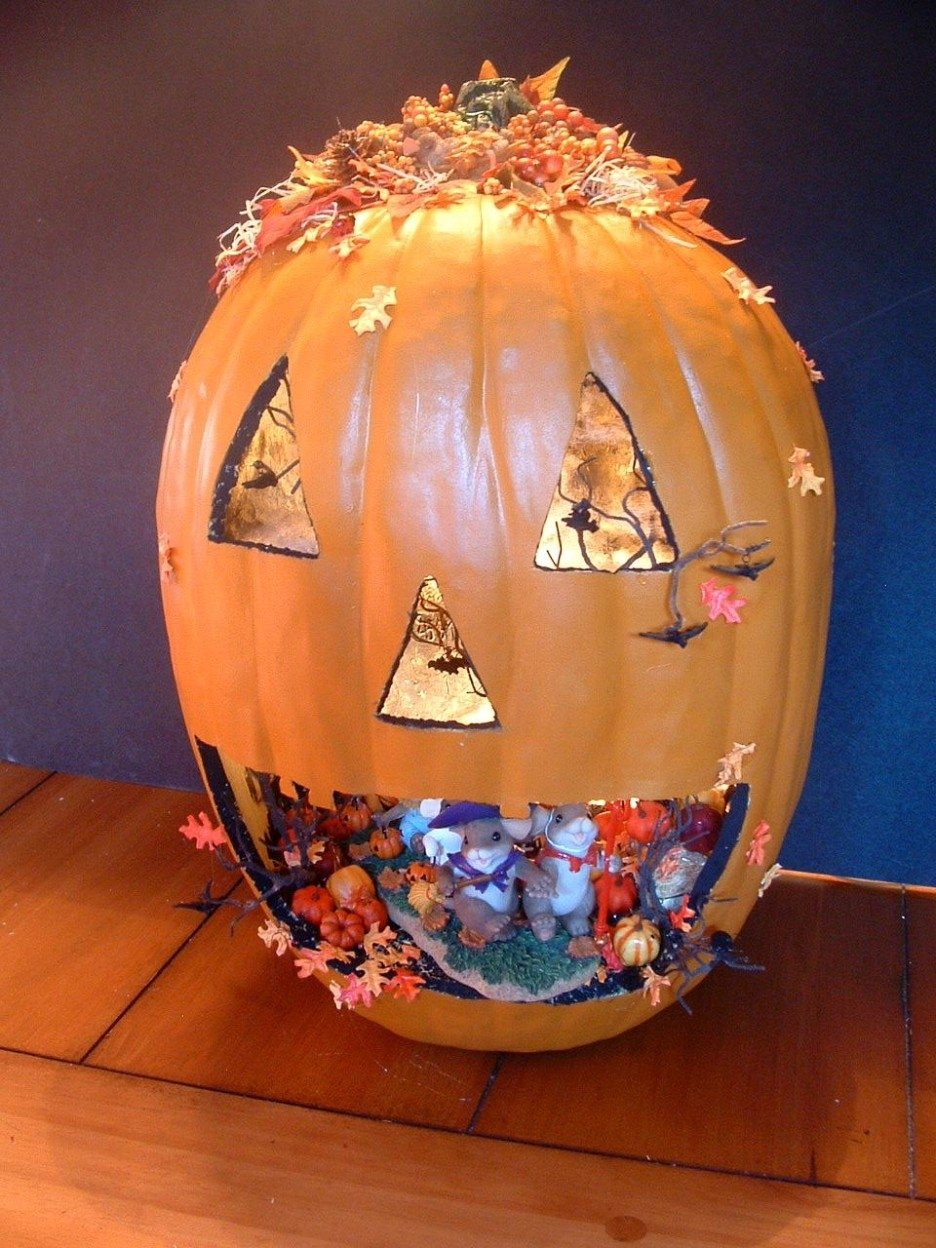 10 Beautiful Easy Pumpkin Decorating Ideas Without Carving Pumpkin decoration ideas charming image of accessories for kid halloween 2020