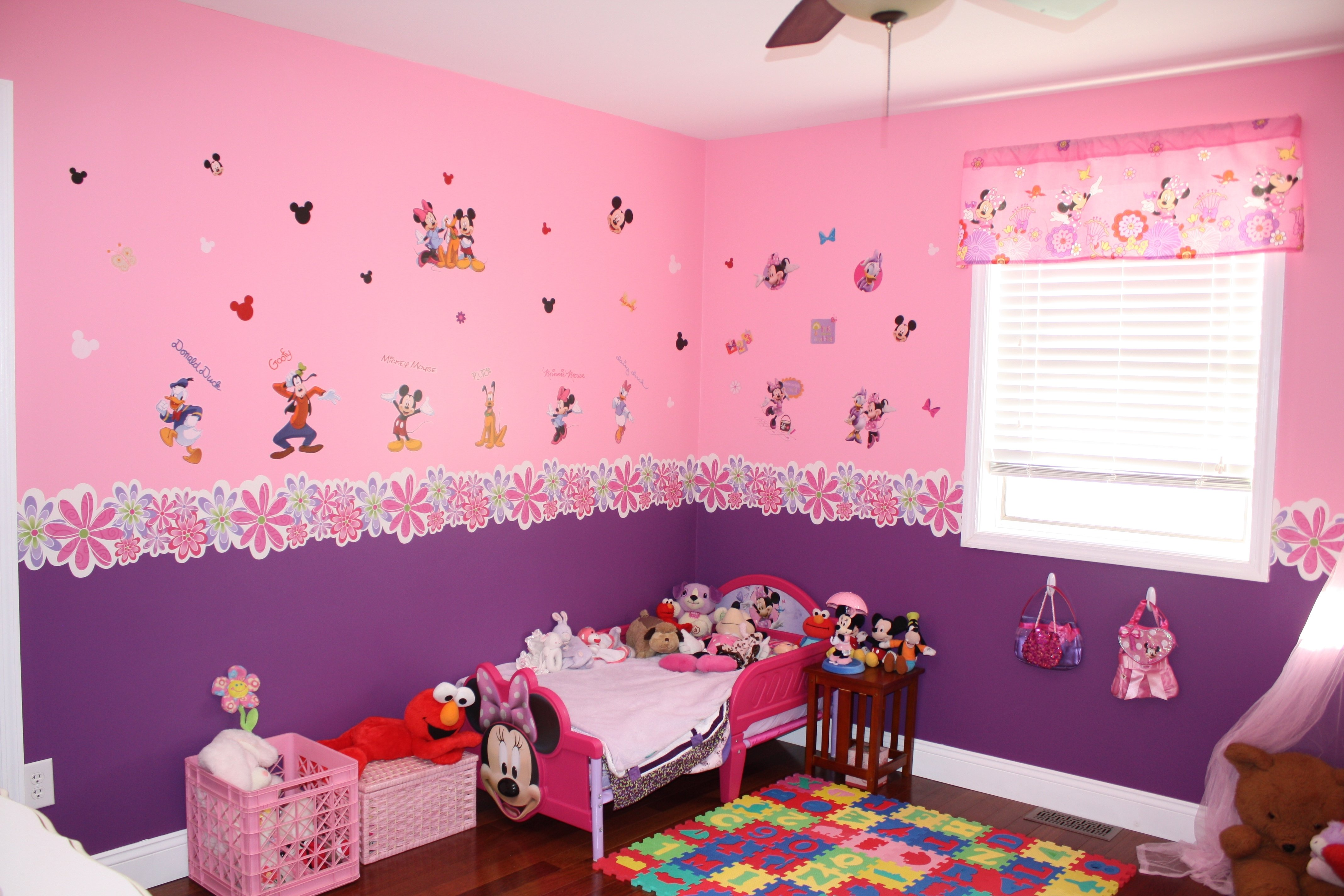 10 Stylish Minnie Mouse Room Decor Ideas decorations 56 minnie mouse kids room disney princess crown also 2020