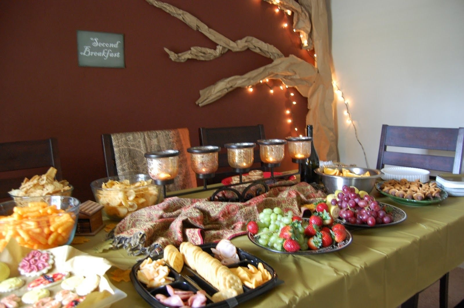 10 Pretty Lord Of The Rings Party Ideas decorations for lord of the rings party love the 2nd breakfast 2020