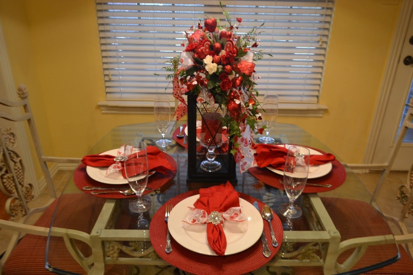 10 Fantastic At Home Valentines Day Ideas decorations romantic family table setting ideas with beautiful day
