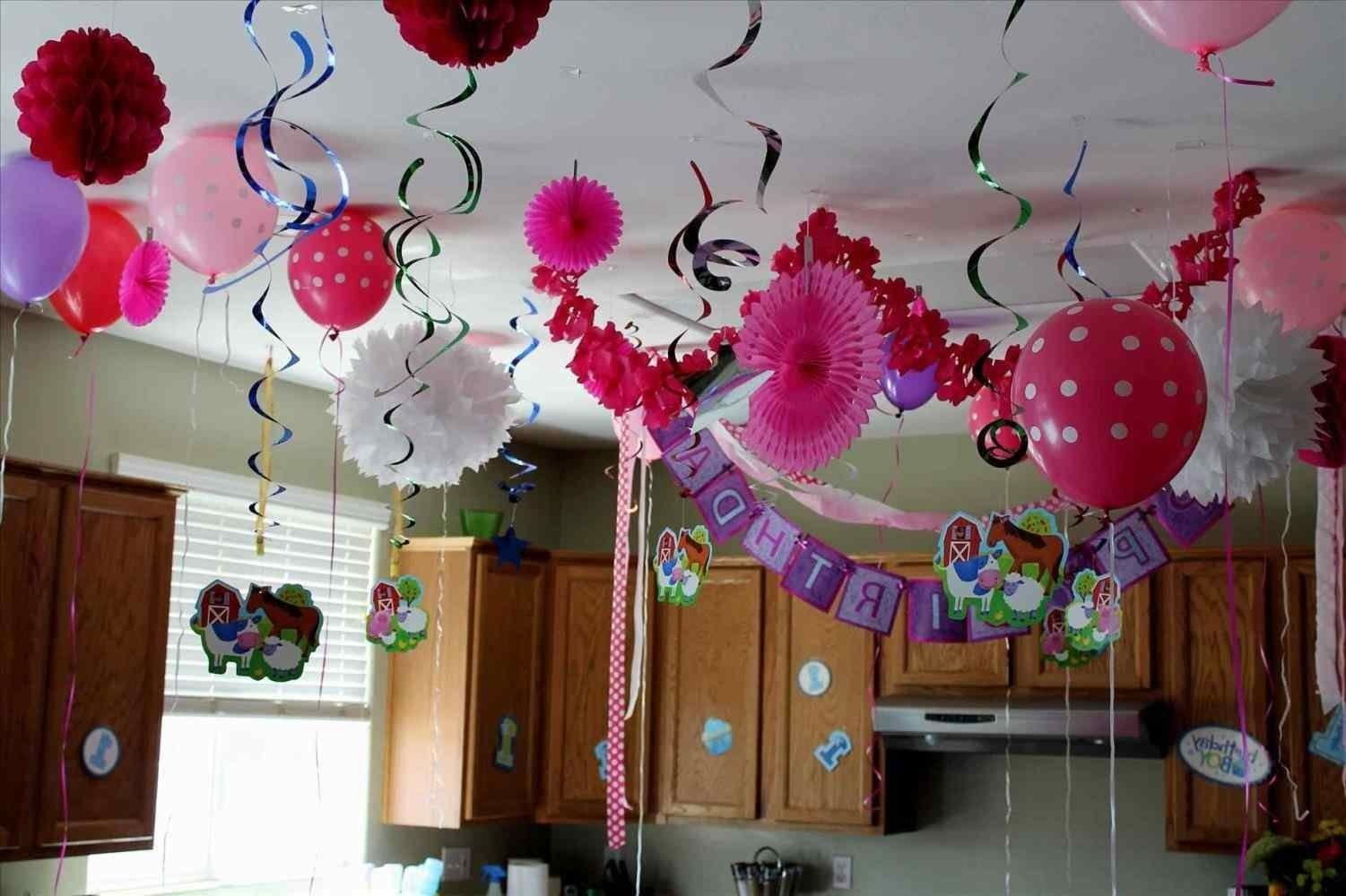 10 Attractive At Home Birthday Party Ideas Decorions For A St Good Design Decor 21st
