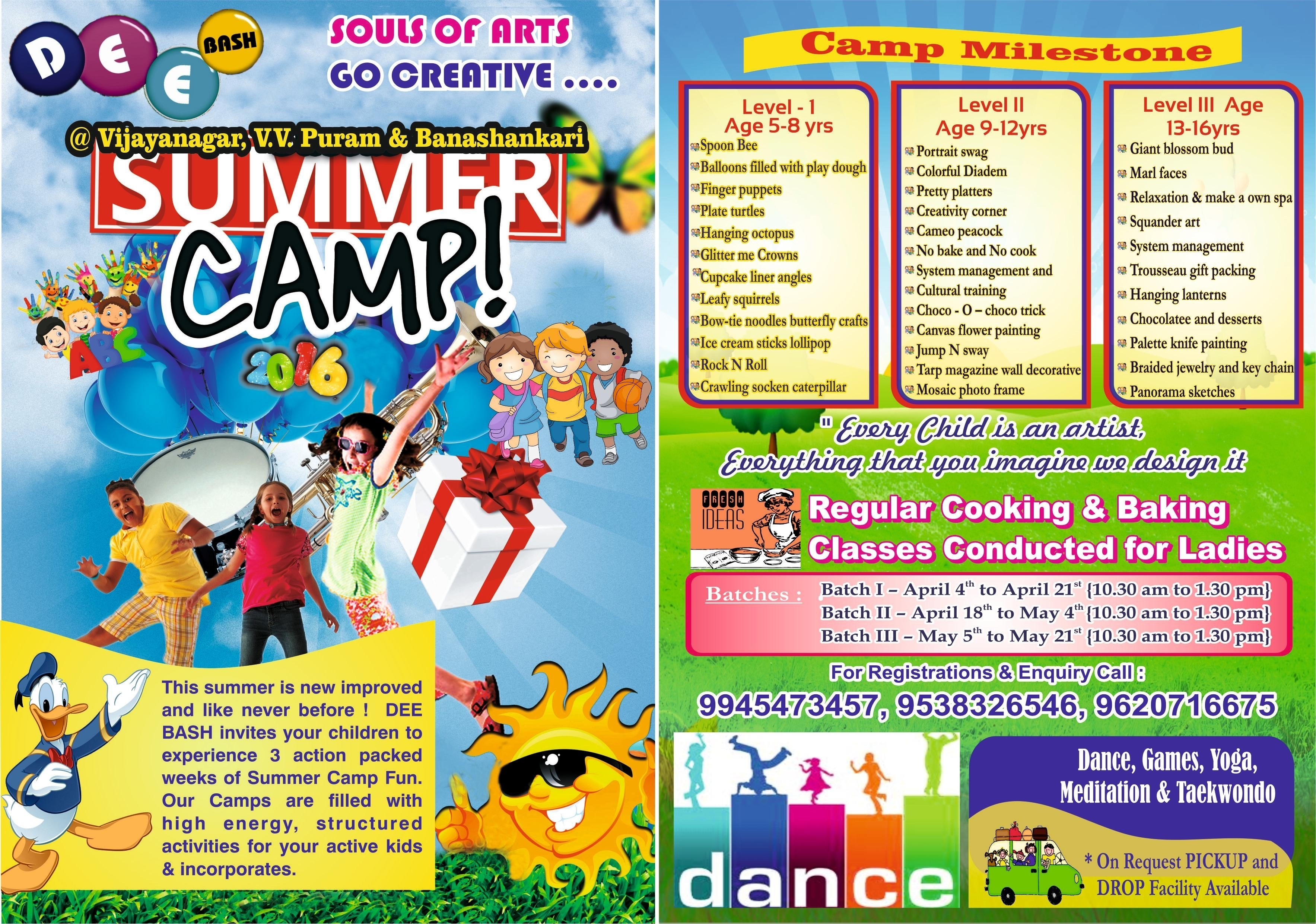 10 Cute Summer Camp Ideas For Kids deebash summer camp at vijayanagar bangalore events high